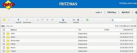 Fritz!NAS KabelTV Chemnitz